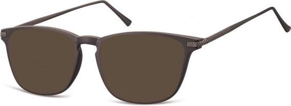 SFE-10550 sunglasses in Dark Brown
