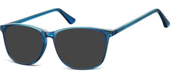 SFE-10547 sunglasses in Clear Dark Blue