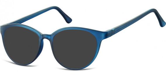 SFE-10546 sunglasses in Clear Dark Blue