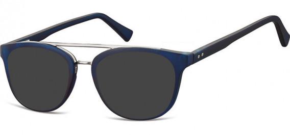 SFE-10542 sunglasses in Clear Dark Blue