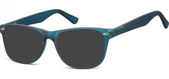 SFE-10541 sunglasses in Clear Dark Blue