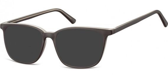 SFE-10540 sunglasses in Black/Clear