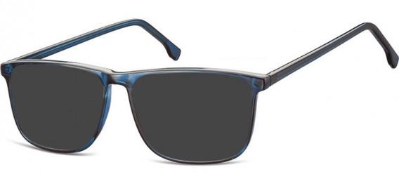 SFE-10539 sunglasses in Clear Dark Blue