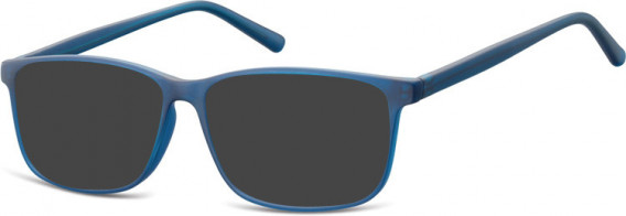SFE-10538 sunglasses in Clear Blue