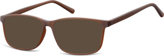 SFE-10538 sunglasses in Clear Brown