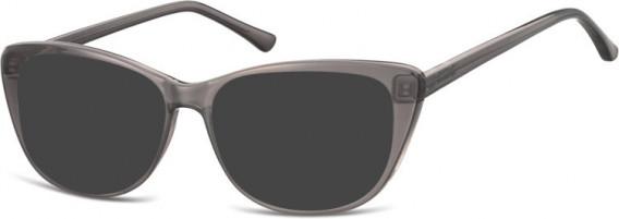 SFE-10537 sunglasses in Milky Grey