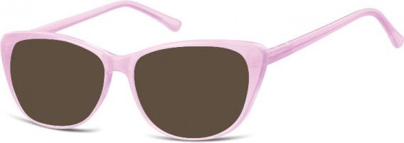 SFE-10537 sunglasses in Milky Purple