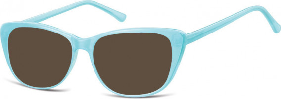 SFE-10537 sunglasses in Milky Blue