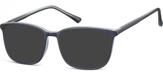 SFE-10536 sunglasses in Dark Blue/Clear
