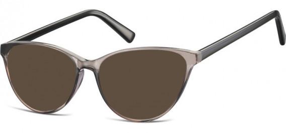 SFE-10535 sunglasses in Clear Grey/Black