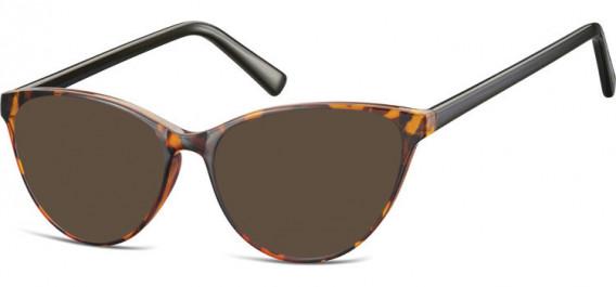 SFE-10535 sunglasses in Clear Turtle/Black