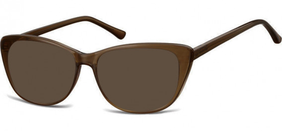 SFE-10532 sunglasses in Clear Brown