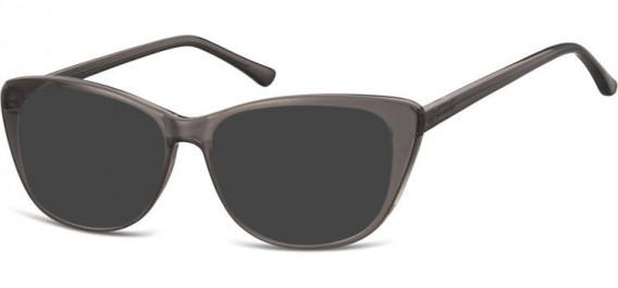 SFE-10532 sunglasses in Milky Grey