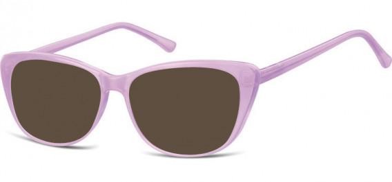 SFE-10532 sunglasses in Milky Purple