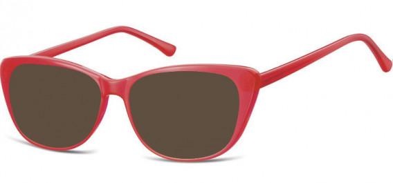 SFE-10532 sunglasses in Milky Red