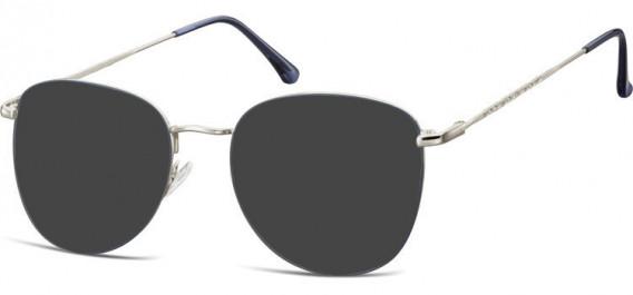 SFE-10529 sunglasses in Silver/Blue