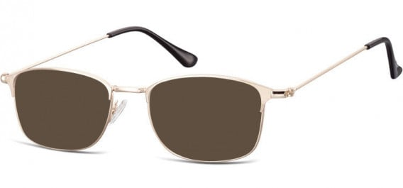 SFE-10526 sunglasses in Pink Gold