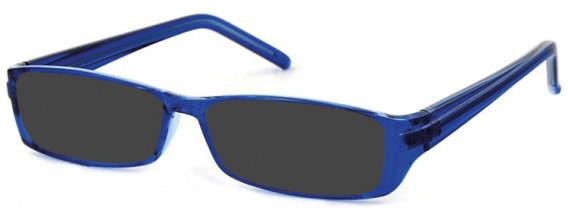 SFE-10581 sunglasses in Clear Blue