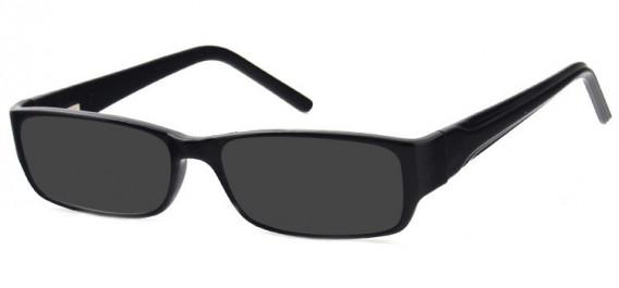 SFE-10578 sunglasses in Black