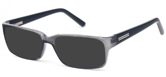 SFE-10576 sunglasses in Grey/Black