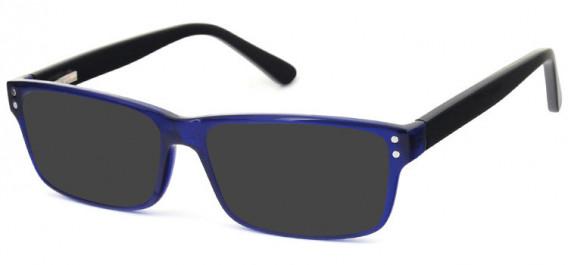 SFE-10575 sunglasses in Blue/Black