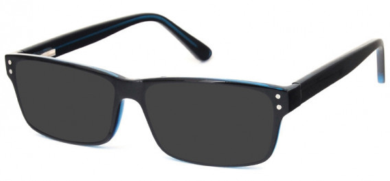 SFE-10575 sunglasses in Black/Blue