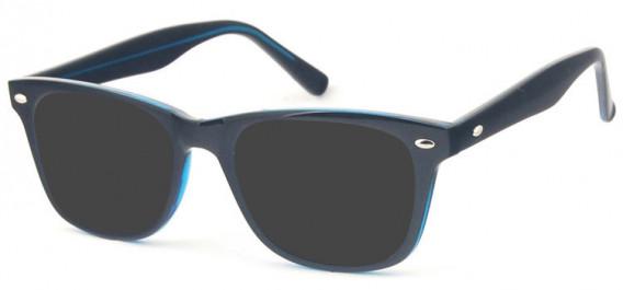 SFE-10574 sunglasses in Black/Turquoise