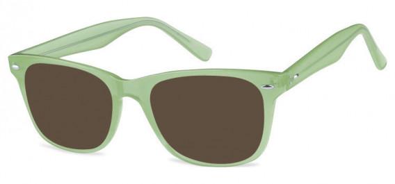 SFE-10573 sunglasses in Clear Green