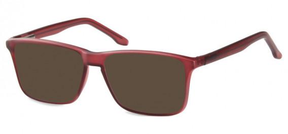 SFE-10571 sunglasses in Matt Burgundy