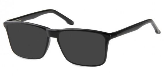 SFE-10571 sunglasses in Matt Black