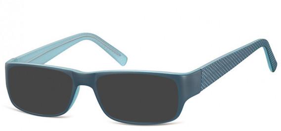 SFE-10562 sunglasses in Blue/Light Blue