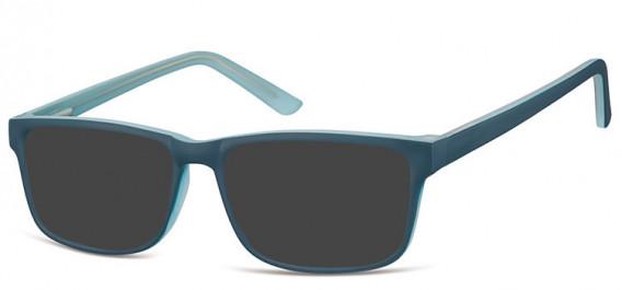 SFE-10561 sunglasses in Blue/Light Blue