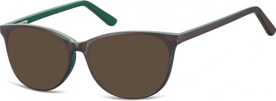 SFE-10556 sunglasses in Brown/Green