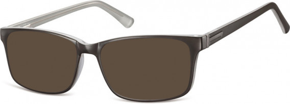 SFE-10554 sunglasses in Black/Grey