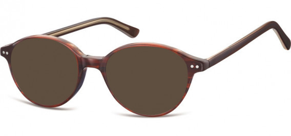 SFE-10552 sunglasses in Turtle Bordeaux