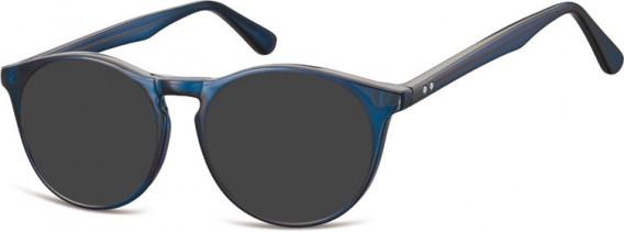 SFE-10551 sunglasses in Dark Clear Blue