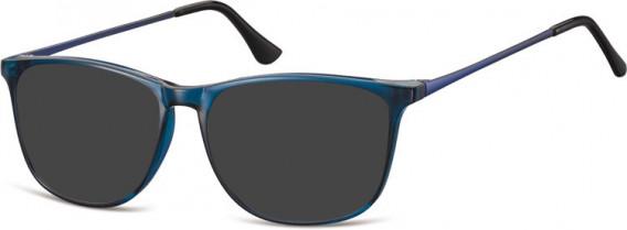 SFE-10548 sunglasses in Clear Dark Blue
