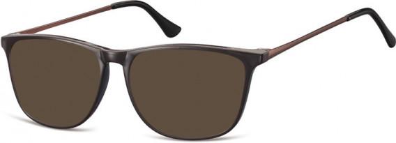 SFE-10548 sunglasses in Dark Brown