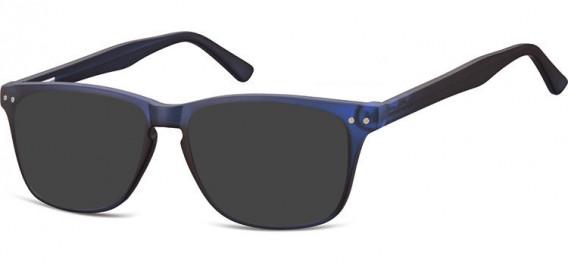 SFE-10543 sunglasses in Clear Dark Blue