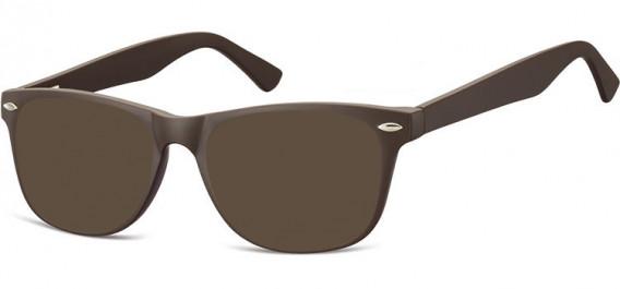 SFE-10541 sunglasses in Dark Brown