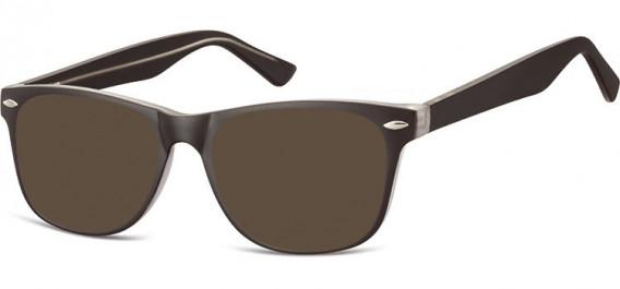 SFE-10541 sunglasses in Black/Clear
