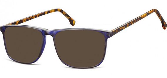 SFE-10539 sunglasses in Blue/Turtle Mix
