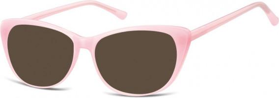 SFE-10537 sunglasses in Milky Pink
