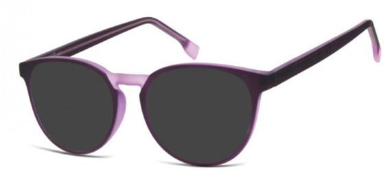 SFE-10533 sunglasses in Purple/Transparent Light Purple