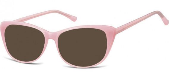 SFE-10532 sunglasses in Milky Pink