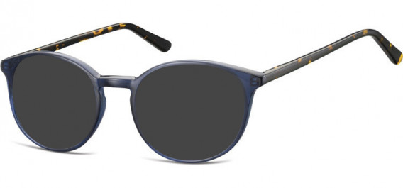 SFE-10531 sunglasses in Navy Blue/Turtle