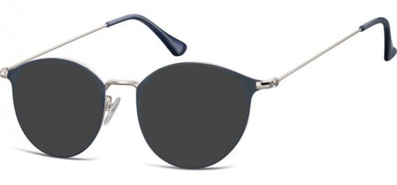 SFE-10528 sunglasses in Silver/Blue