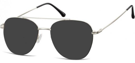 SFE-10527 sunglasses in Silver/Black