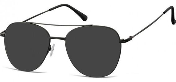 SFE-10527 sunglasses in Matt Black