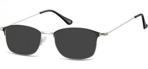 SFE-10526 sunglasses in Silver/Black